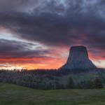 Devil's Tower Sunset