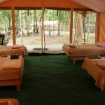 World Slam Adventures Mayan Jungle Safari Tent Interior